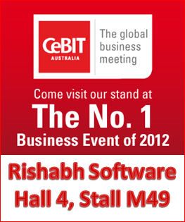 Rishabh at CeBIT Australia 2012