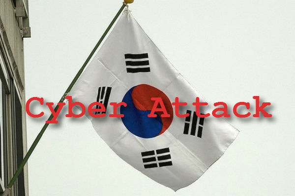 South Korea cyber-attack