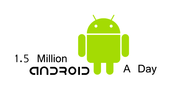 1.5 Million Android a Day