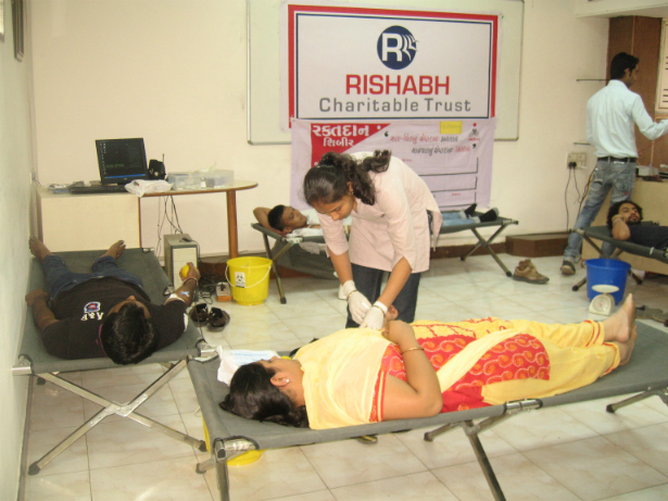 Rishabh Software Blood Donation Camp