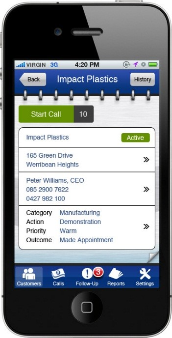 Mobile Sales App Screenshot 3