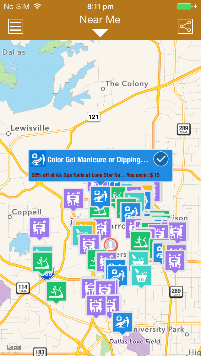Location Based Ad Solution Screenshot 1
