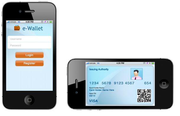 Developed Custom Digital Wallet App for iPhone