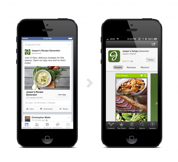 Facebook Adds Deep Linking