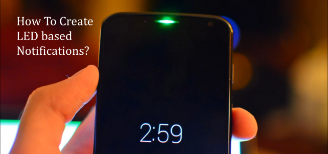 android led notification