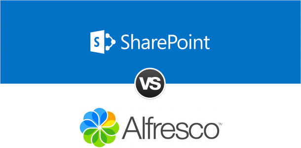 Comparison Between Sharepoint and Alfresco