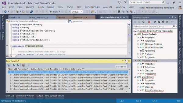 Visual Studio Productivity Power Tools Extension