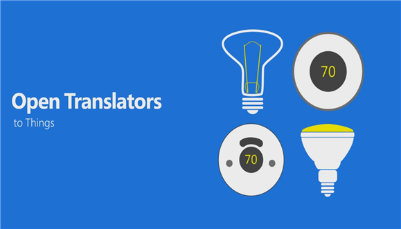 Microsoft Open Translators to Things for IOT