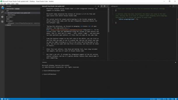 Microsoft Releases Visual Studio 1.2