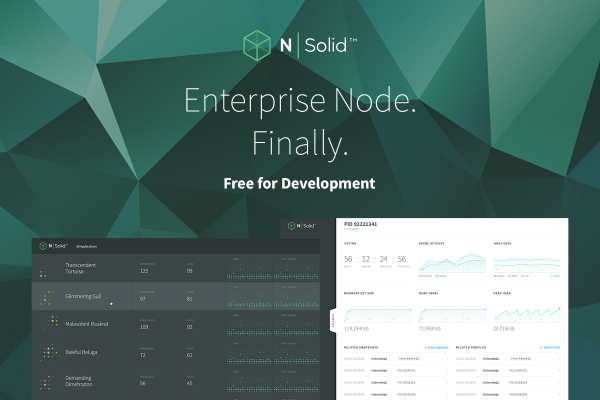 NodeSource released the beta launch of its containerized NSolid Deployment