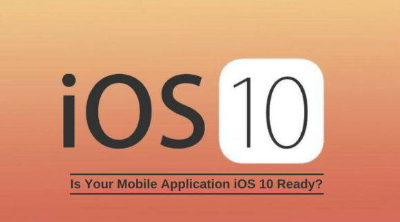 Upgrade Your Application To ios 10