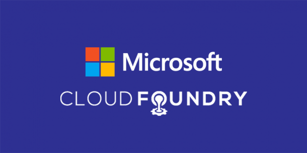 Microsoft Connects With Cloud Foundry Foundation