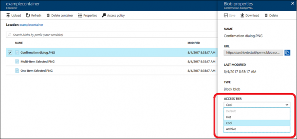 Public Preview Of Azure Archive Blob Storage Is Now Available