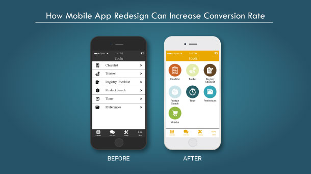 Boost Conversion Rate with Mobile App Redesign