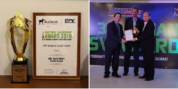 Mr. Raju Shah honored with ITPV Business Leader Award