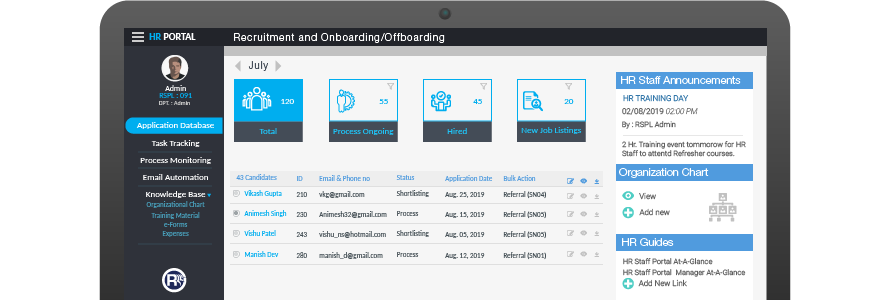 Sharepoint-HR-Recruitment-and-Onboarding-Offboarding-Module