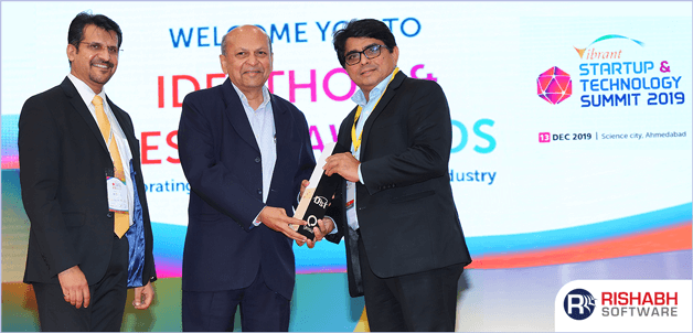 Rishabh Software Awarded At VSTS 2019
