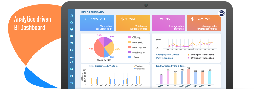 Analytics-driven BI Dashboard