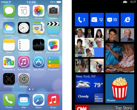 Windows-and-iOS-Interface
