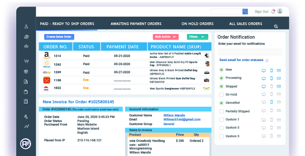 eCommerce Order Management