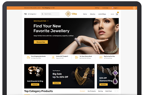 Prestashop to Magento 2 Migration - Jewelry Store