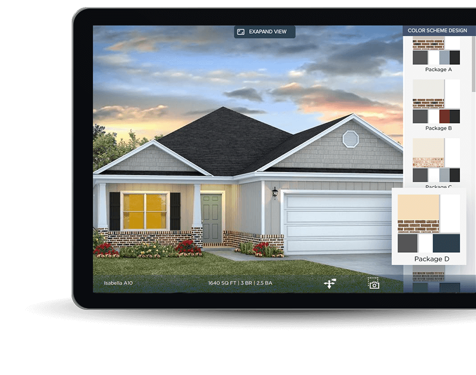 AR mobile app development for product visualization