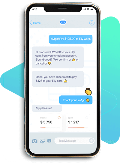 Chatbot for Transferring and Receiving Payments